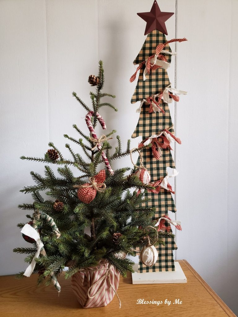 Primitive Christmas Trees