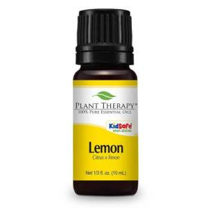 lemon scented essential oil to help you survive the holidays