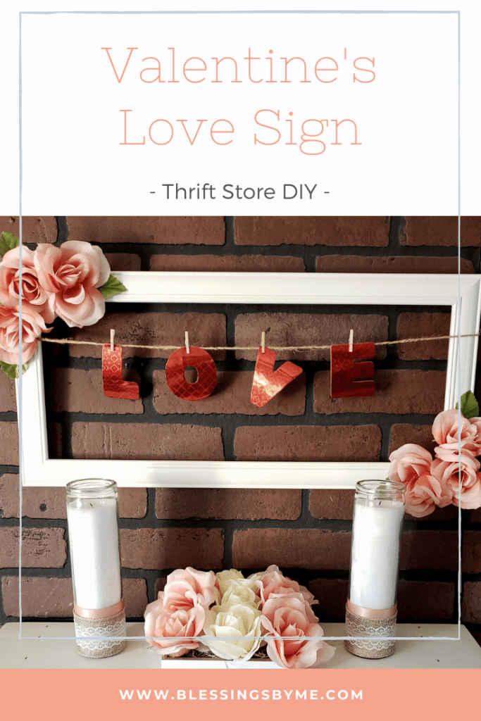 Valentine's Love Sign DIY