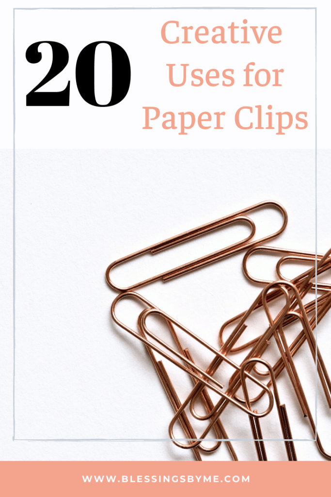 20 creative uses for paper clips
