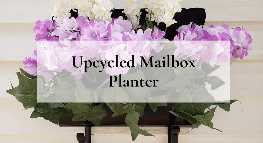 Upcycled Mailbox Planter