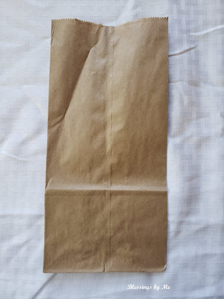 paper bag for room spray label