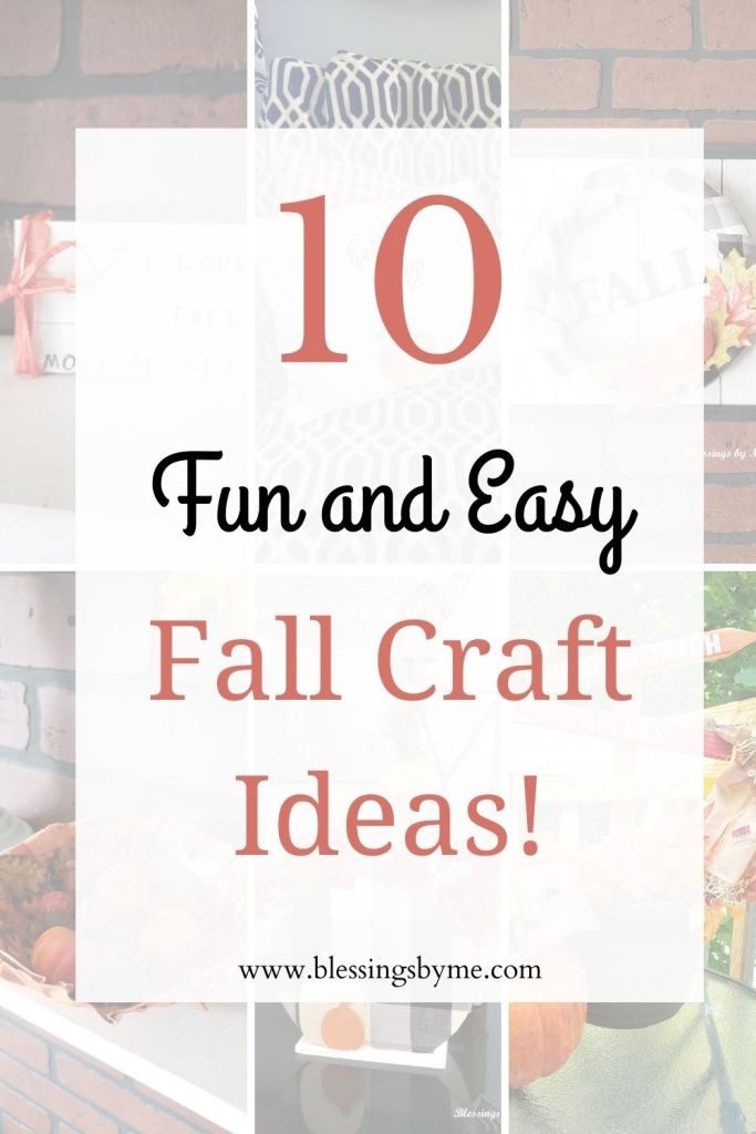 Fun Fall Crafts