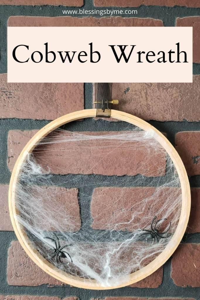 cobweb wreath
