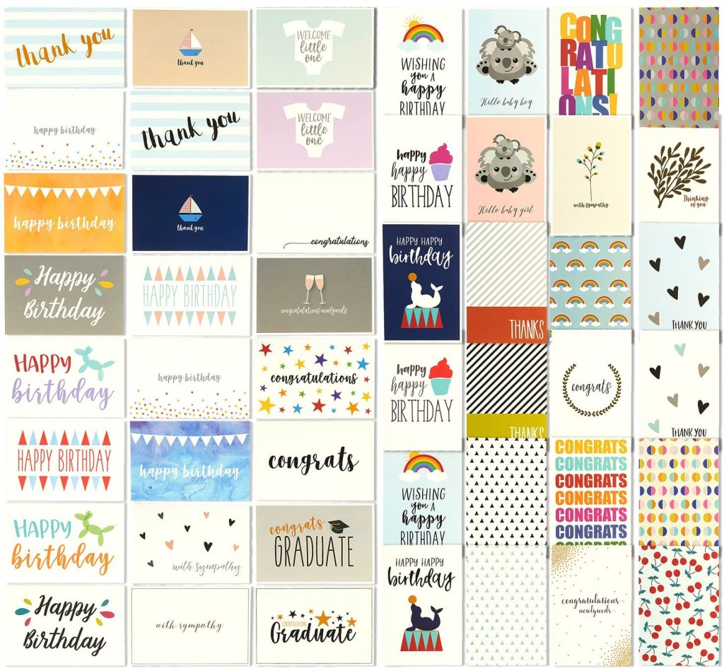 greeting card set - gift ideas for women