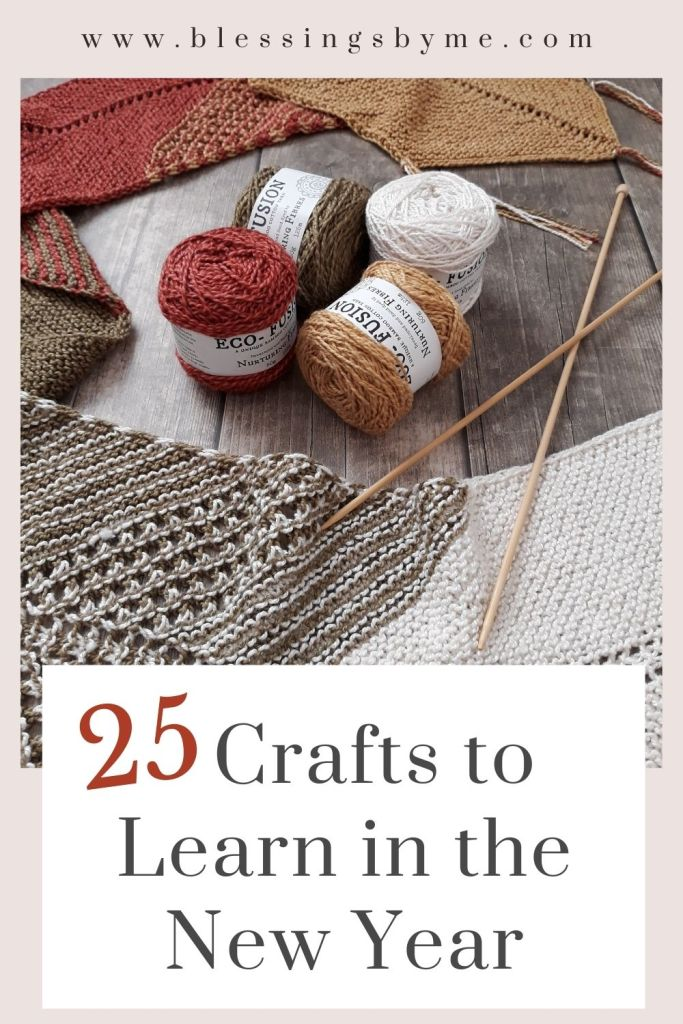 crafts to learn in the new year