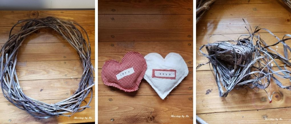 simple grapevine wreath materials list