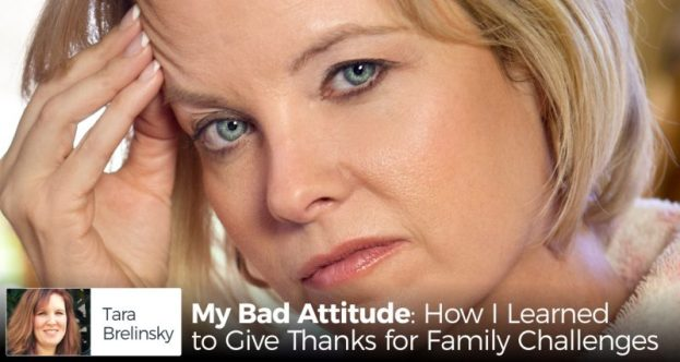 bad attitude changed to gratitude