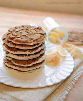 White Chocolate Bottomed Ginger Cookies from www.blessthismessplease.com