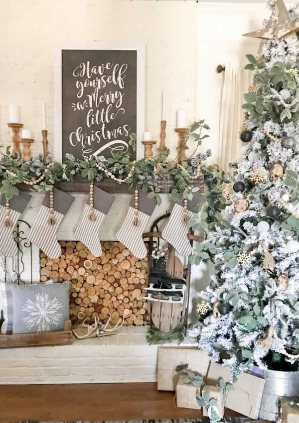 Our Neutral Christmas Tree Reveal With JOANN