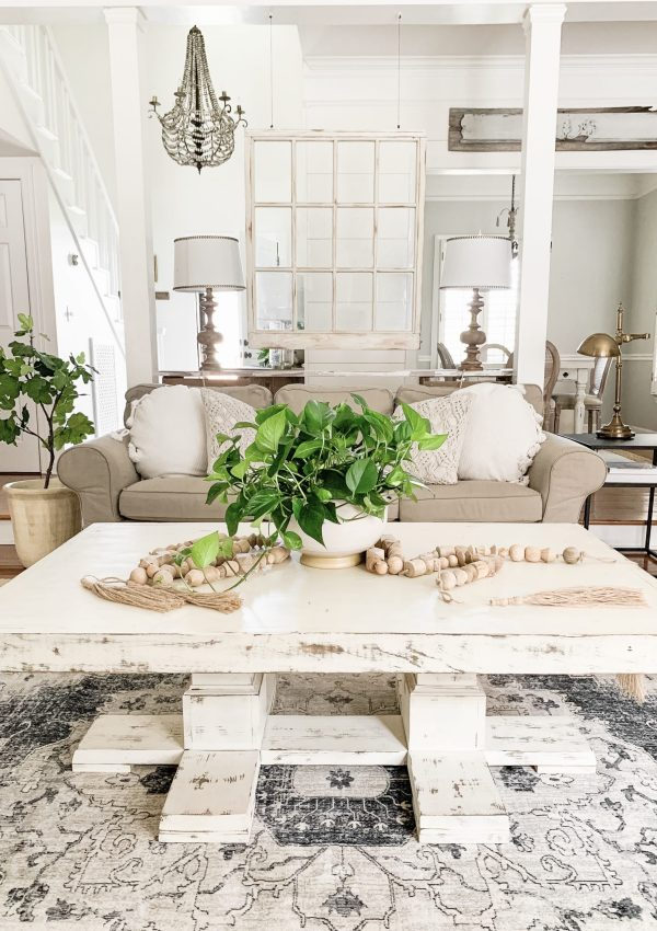 Neutral Living Room Rug From Boutique Rugs