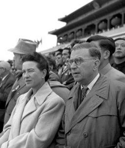 JP Sartre et S. de Beauvoir