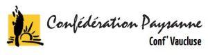 logo Confédération Paysanne 84