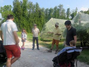 La ferme de P. Clerc ouverte à la visite