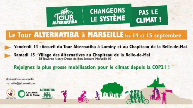 Tour Alternatiba 2018 à Marseille