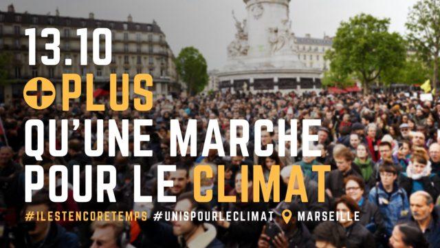 le 13 octobre, marche pour le climat