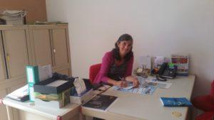 Mireille Dumestre est maire de Viens
