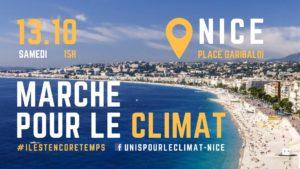 le 13 octobre marche pour le climat à Nice