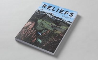Reliefs, la revue montagne traite ici des sommets