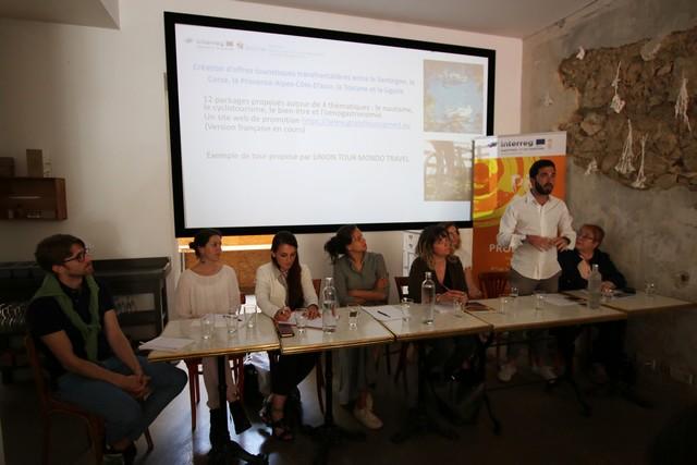 Les intervenants pour Interreg tourisme durable