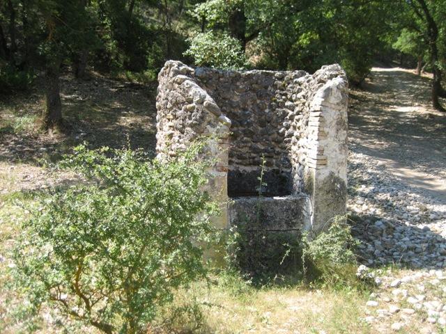 puits de Valvachère à Roumoules (04)