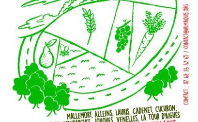 Vivant quinzaine de l'alimentation Durance Sud Luberon