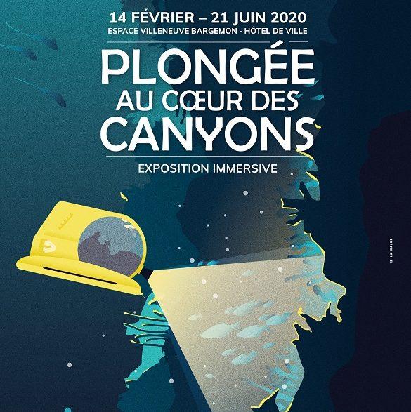 Expo plongée au coeur des canyons à Marseille