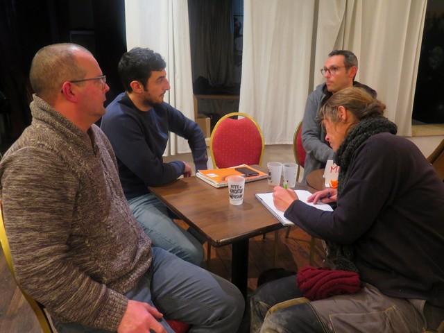 les participants à la rencontre à Cavaillon