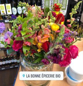 Les fleur de Virginie et la bonne épicerie bio