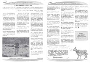 article sur l'adaptation aux aléas climatiques dans la gazette La Voie Biolactée sur l'expert sourcier Philippe Wojtowicz