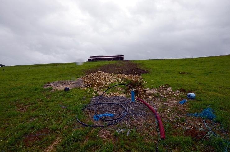 Forage agricole dans le Doubs