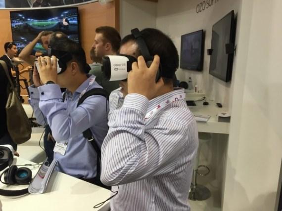 VR pratades det mycket om i år.