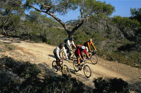 Biken im Troodos Gebirge, Zypern © CTO