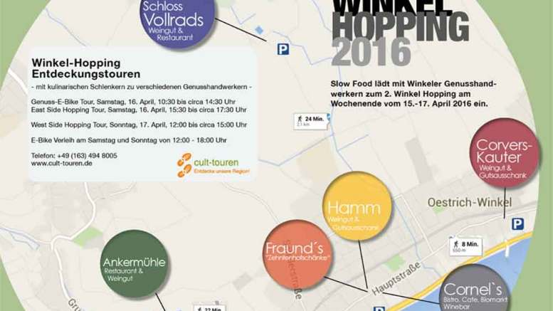 2. Winkelhopping im Rheingau