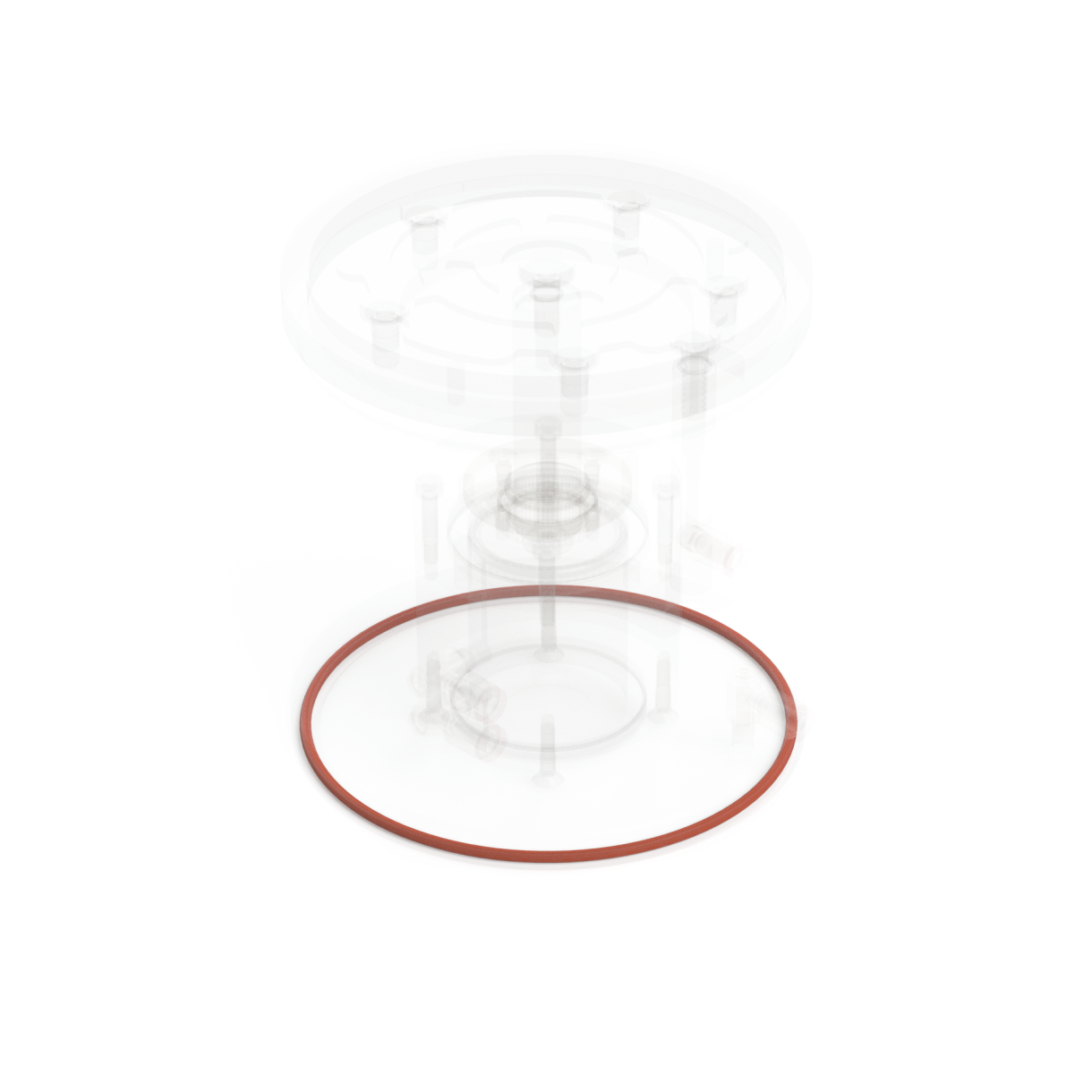 Retractable Suction Cup Bottom Seal