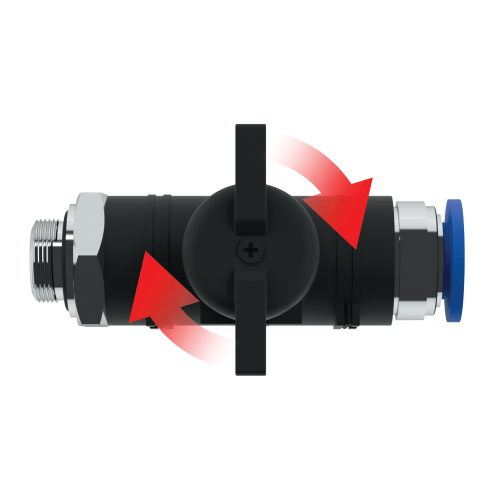 Straight Combo Valve by BLICK INDUSTRIES