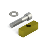 T-Nut and Bolt for Breton slotted tables by BLICK INDUSTRIES