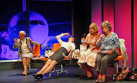 """Szenenfoto aus """"Heiße Zeiten"""", dem """"Musikalischen Hormonical"""", das am 20. November im Sauerlandtheater gastiert. (Foto: Veranstalter)"""
