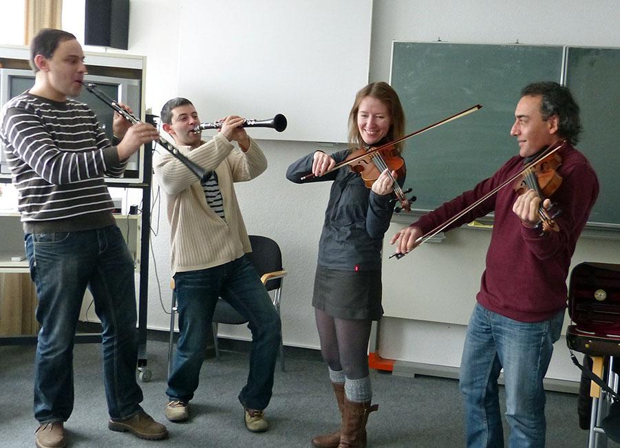 """Russische Top-Musiker finden es """"Wunderbar!"""" am Sorpesee"""