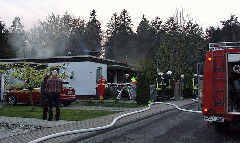 Wohnungsbrand in Langscheid. (Foto: Feuerwehr)