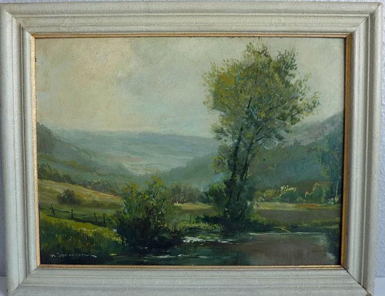 Bilder von Hermann Springborn wie diese Landschaftsaufnahme finden sich immer wieder auch auf der Auktionsplattform Ebay. (Quelle: Ebay)