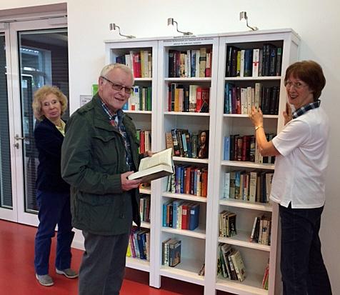 Arnsberger Bahnhofs-Bibliothek ''LesBar'' eröffnet