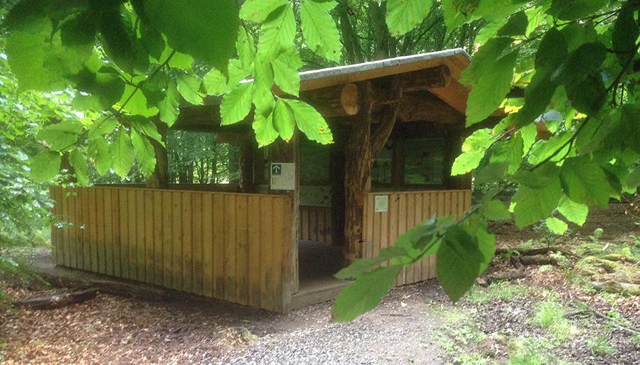 Wildwald bietet seinen Besuchern jetzt Allwetterschutz