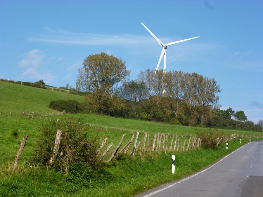 Sieben neue Windkraftanlagen in Holzen beantragt