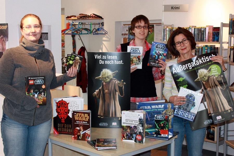 Es wird außergalaktisch: Star Wars-Woche in Stadtbücherei Sundern