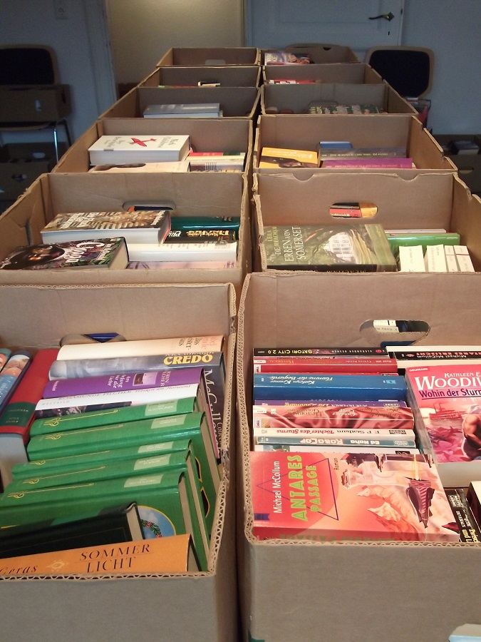 Stadtbibliothek nimmt Bücherspenden an
