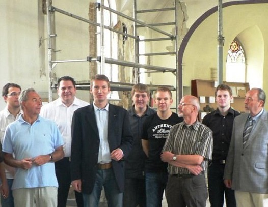 Bund fördert Restaurierung der Rodentelgenkapelle