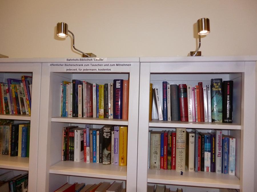Bahnhofsbibliothek Arnsberg kommt sehr gut an