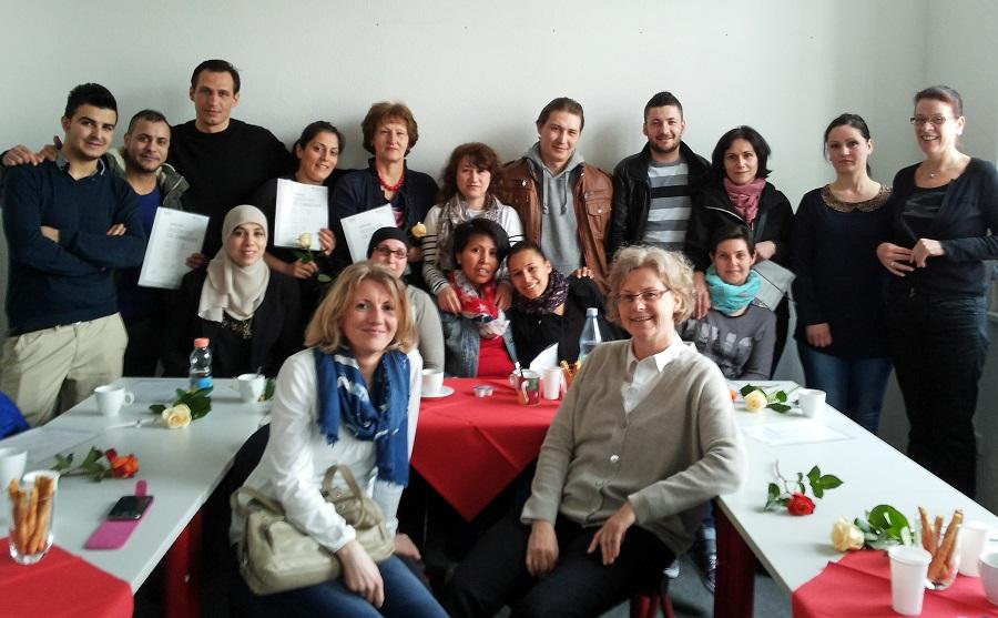 Sechs Monate gemeinsam Deutsch gelernt