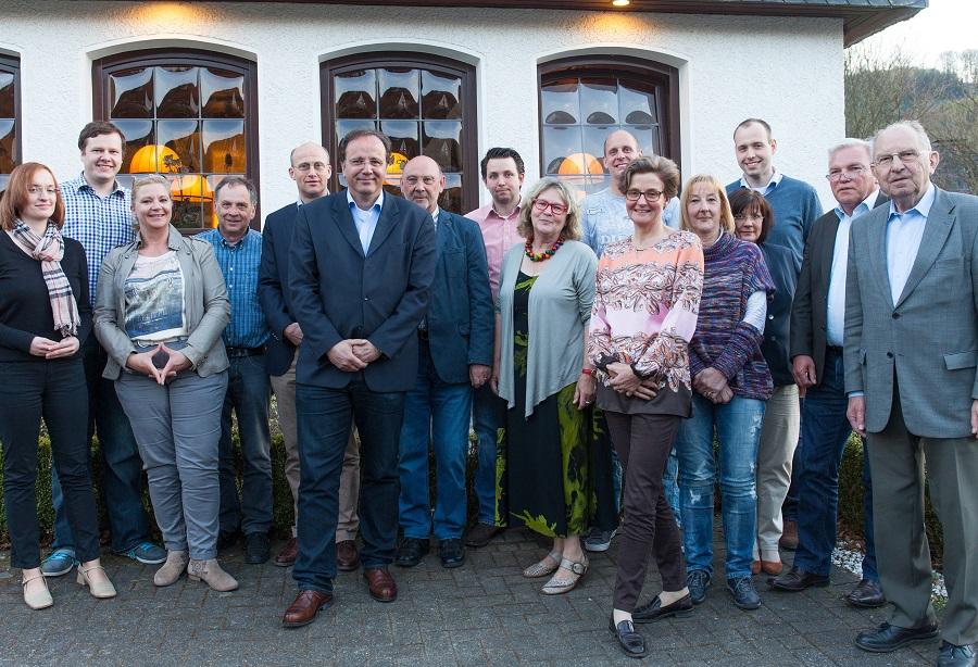 Die Mitglieder der CDU-Findungskommission trafen sich jetzt erstmals mit den Mitgliedern des Parteivorstands. (Foto: CDU)